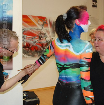 bodypainting körper kunst bodypainting-news